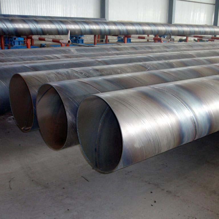 挂网式防腐螺旋钢管