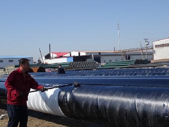 沧螺集团单层溶结环氧粉末防腐螺旋焊接钢管厂家