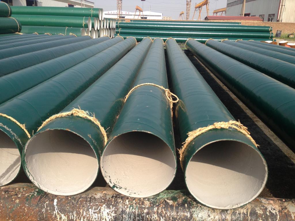 沧螺集团供水管线用Q235B螺旋焊接钢管