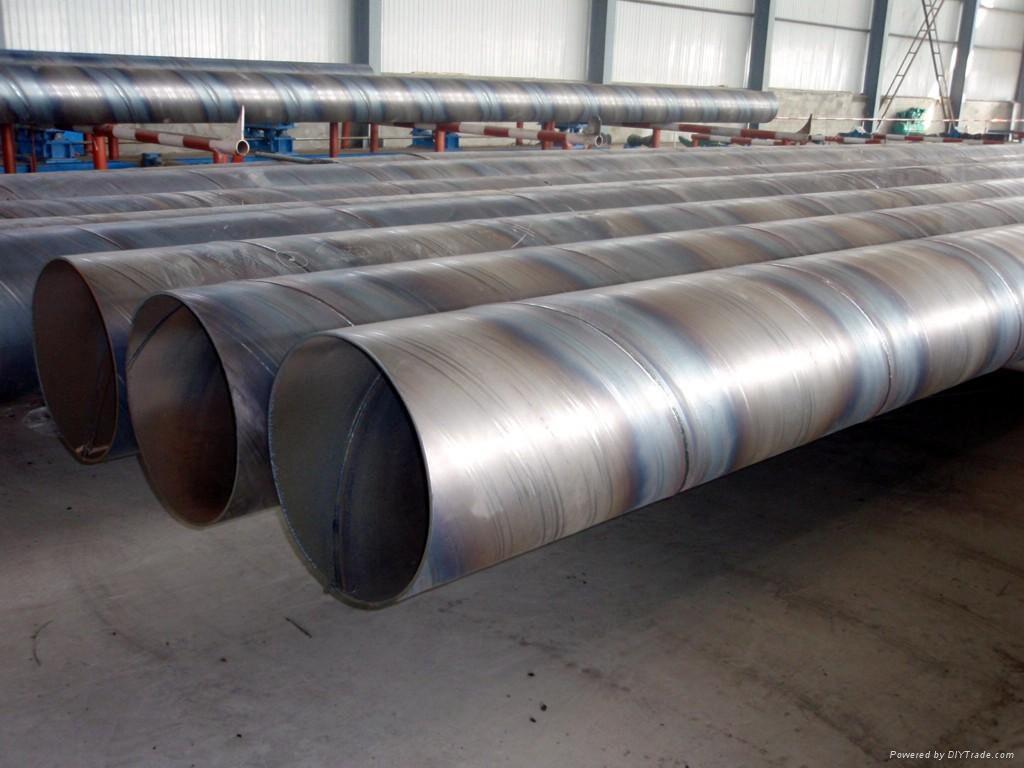 五洲牌供水管线用Q235B螺旋焊接钢管