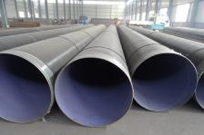 出口3pe加强级防腐螺旋缝埋弧焊钢管 DN355*8.8 材质L360