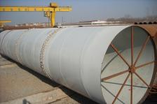 出口美标北海港(PORT OF BEIHAI)螺旋缝焊接钢管